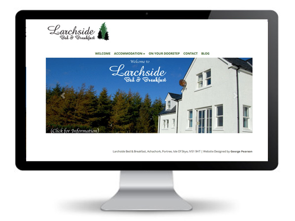 Larchside Skye B&B Website